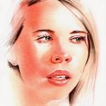 'Edie' Portrait    Debbie Hinks