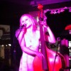 Clothed drawing session – 'Laura and the Bass' – Alcampo Lounge Brighton – 19th Oct
