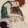 Clothed drawing session – Egon Schiele theme – 9th March
