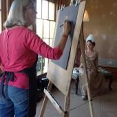 Jan drawing Frankie
